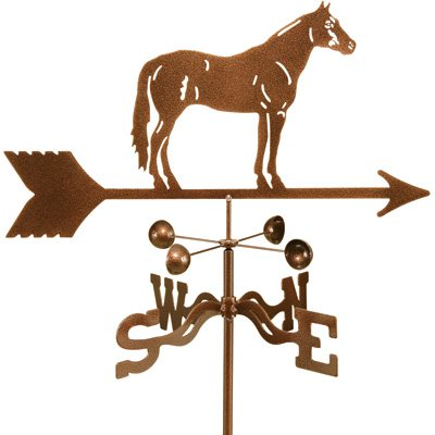 Garden Mount Weathervane, Model 9340 - Quarter Horse